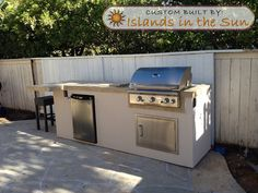 Islands In The Sun Gallery   Pictures of BBQ Island + Outdoor Kitchen Design Idea Projects