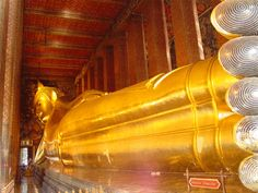 Le Wat Pho, temple du Bouddha couché à Bangkok #Thaïlande #voyage #tourisme #Bangkok #WatPho #Bouddhisme #Temple