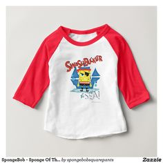 SpongeBob - Sponge Of The Sea Tee Shirt. Baby, bebé. Producto disponible en tienda Zazzle. Vestuario, moda. Product available in Zazzle store. Fashion wardrobe. Regalos, Gifts. #camiseta #tshirt