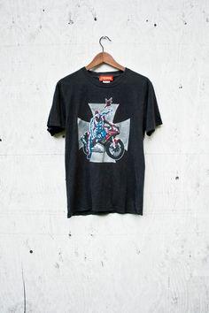 Spiderman Shirt Vintage Marvel Spiderman TShirt Superhero | Etsy Spiderman Images, Spiderman Shirt, Selling Online, Marvel, Cool T Shirts, Etsy Vintage, Superhero, Tees, Mens Tops