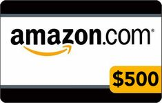 Win a $500 Amazon gift card from Kindle Buffet