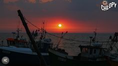 zachód słońca :)