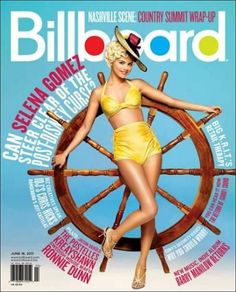 Selena Gomez - Billboard Magazine Cover [United States] (18 June 2011)