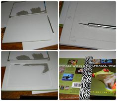 DIY MAGNETIC Z PALETTE USING A HARDCOVER BOOK