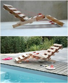 #Chair, #Lounge, #Pool, #RecycledPallet