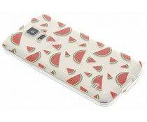 Transparant fruit design TPU hoesje Galaxy S5 (Plus) / Neo