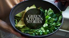Spinach Crepes | Green Kitchen Stories. These crepes were delish stuffed with sautéed mushrooms and smoked Gouda. I used whole wheat flour instead of buckwheat & arugula instead of spinach.