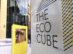 Installation and graphic design by Upcircle London Design Festival, Local Artists, Cube, Graphic Design, Visual Communication