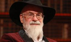 Sir Terry Pratchett--I recommend everything this man has ever written.