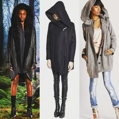 What's your #hoodie style? Our #fw16collection is full of oversized hoods. Why not add some #luxury to your life? #details #designer #toniadebellis #cool #layers