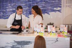 """Presentación del libro de Patricia Pérez """"Yo sí que cocino"""" en  AMA Hotels & Health Retreats."""