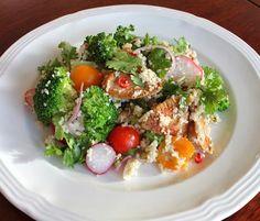 Food Lust People Love: Broccoli Chicken Couscous Salad