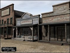 Old West Mercantile  ....... slightly different styles