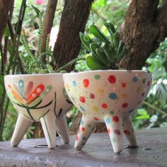 Hanging Pots, Pottery Bowls, Cactus, Planter Pots, Clay, Mugs, Creative, Inspiration, Home Furnishings