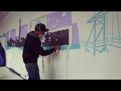 Raambuurt Deventer Muurschildering | Egbert.EGD