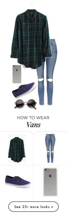 """""""Untitled #536"""" by batgirl-373 on Polyvore featuring Topshop, Madewell, Vans and Incase @theildikoboros"""