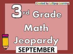Jeopardy Games for ALL 9 Months!