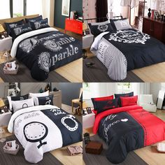 polyester fiber material bedding set include pillowcase duvet cover bed sheet wholesale supply the queen size home textile pinterest wholesale