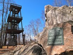 The Observation Tower on Rib Mountain Wausau, WI #Wausau # Wisconsin