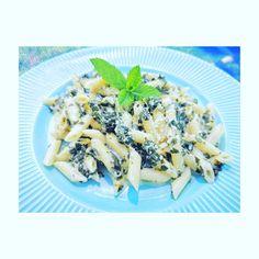 🥬🥬🥬Paste cu sos de smantana si spanac🥬🥬🥬 . 👶 Bebelusul tau mananca paste? Paste, Potato Salad, Potatoes, Ethnic Recipes, Instagram, Food, Potato, Essen, Meals