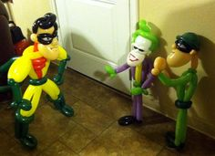 Super heroes - Balloon Creations