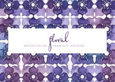 Floral Watercolour Pattern  - free  from August Empress