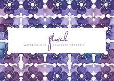 floral watercolour pattern