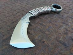 "Wrench Karambit's 2.5"" blade is big self defense in a small blade."