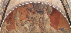 Paolo Uccello: The Flood (and Recession of the Flood), 1447. Church of Santa Maria Novella, Florence. Chapter 3.