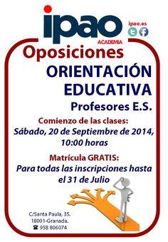 Preparación de las oposiciones de Orientación Educativa
