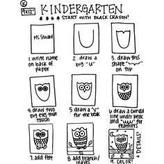 Best Art Projects For Elementary Students Kindergartens Lesson Plans 65 Ideas – Kindergarten Lesson Plans Kindergarten Drawing, Kindergarten Art Projects, Art Sub Lessons, Drawing Lessons, Drawing Art, Elementary Art Lesson Plans, Art Sub Plans, Art Handouts, School