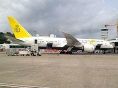 Living the dream? Business class on the Royal Brunei Dreamliner #Brunei #travel #flying