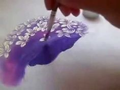 how to paint hydrangea – Embroidery Desing Ideas Peony Painting, China Painting, Tole Painting, Fabric Painting, Hydrangea Painting, Acrylic Painting Techniques, Painting Videos, Painting Lessons, Painting Tips