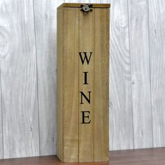 Vintage Style Wooden Wine Box