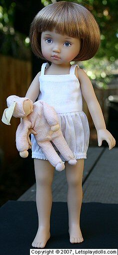 "LPD Welcome - Boneka Doll Clothing, Shoes & Dolls :: For 10"" Boneka Dolls, 10.5"" Heidi Plusczok, 12"" Kim Lasher, Creedy ballerinas, Iplehouse BIDS, etc. :: Camiknickers, size 24"