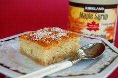 "COOKANDFEED : ""το κέικ του άνεργου""/Pouding Chômeur Sweet Recipes, Banana Bread, Cooking Recipes, Easy, Desserts, Greek, Food, Tailgate Desserts, Deserts"