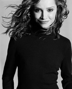 Calista Flockhart by Michael Thompson