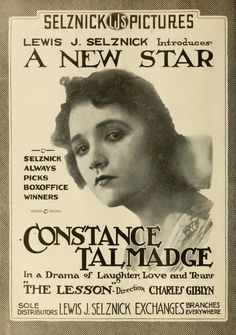 Silent Film Stars and Posters
