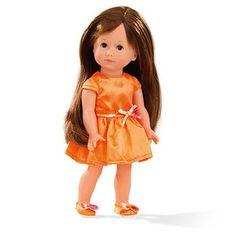 Κούκλα Giuseppina Gotz (Just like me) 27 cm Brown Eyes, Brown Hair, Shops, Gotz Dolls, Baby Dolls, Aurora Sleeping Beauty, Flower Girl Dresses, Glamour, Summer Dresses