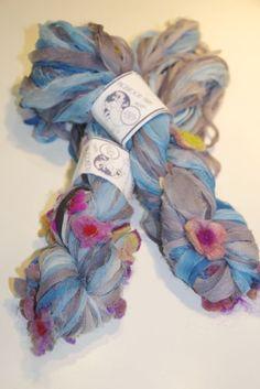 100% Silk-Mohair and silk embellishments