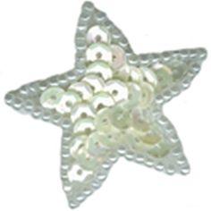 """1 1/4"""" Star Beaded/Sequin Applique"""