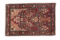 2x3 Antique Kerman Rug Mat - Old New House