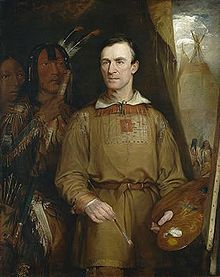 George Catlin    (July 26, 1796 – December 23, 1872) was an American painter, author and traveler who specialized in portraits of Native Americans in the Old West.  - Wikipedia, the free encyclopedia