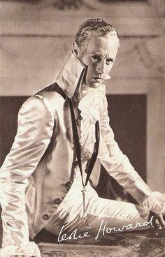 Leslie Howard as Sir Percy Blakeney, The Scarlet Pimpernel (1934)