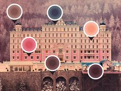 The Grand Budapest Hotel Colors Palette 01