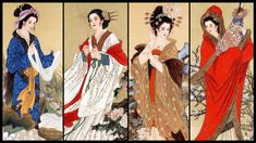 Four of the Most Beautiful Chinese Women of all Time