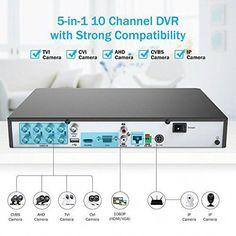 eBay #Sponsored 4CH AHD 1080P HD DVR Home CCTV Video Security System