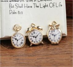 Find More Charms Information about Newest Vintage Style Alloy drop oil gold plated Cartoon Emulation Pocket watches/alarm clock metal charms diy necklace pendants,High Quality watch key,China watch cell phone waterproof Suppliers, Cheap pendant vial from multicolor kingdom on Aliexpress.com
