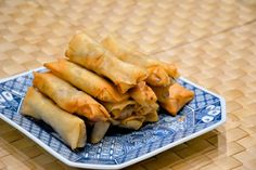 Homemade Spring Rolls1 pack of spring roll wraps 1 pound bean sprout 5 mushrooms 1 carrot 4 ounces lean pork or your choice of protein Vegetable oil for frying Pinch of salt and pepper