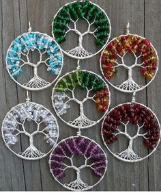 Items similar to Eco-Friendly Tree of Heaven Pendant - Winter Wonderland on Etsy - Love the tree of life my Tammy and Duff gave me! ethora on Etsy - Wire Crafts, Bead Crafts, Jewelry Crafts, Handmade Jewelry, Jewelry Ideas, Tree Of Life Earrings, Tree Of Life Jewelry, Beaded Beads, Beads And Wire